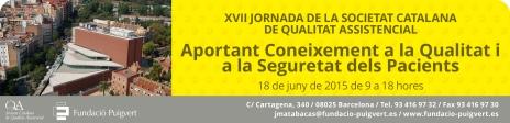 Capçalera XVII Jornada de la socitetat catalana de qualitat