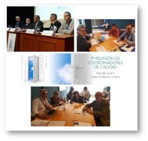 Resum de la 9ª reunió de Coordinadors de Qualitat de la SECA. Elaboració d'un sistema d'acreditació de la SECA.